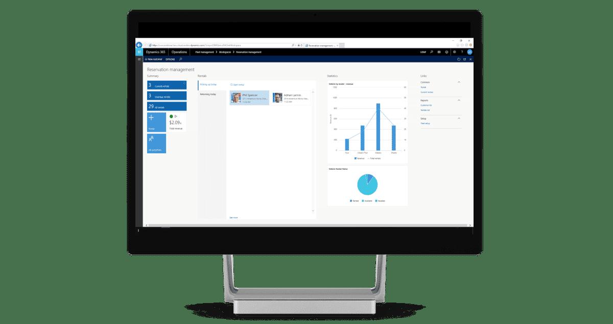 Dynamics 365 for Operations screenshot